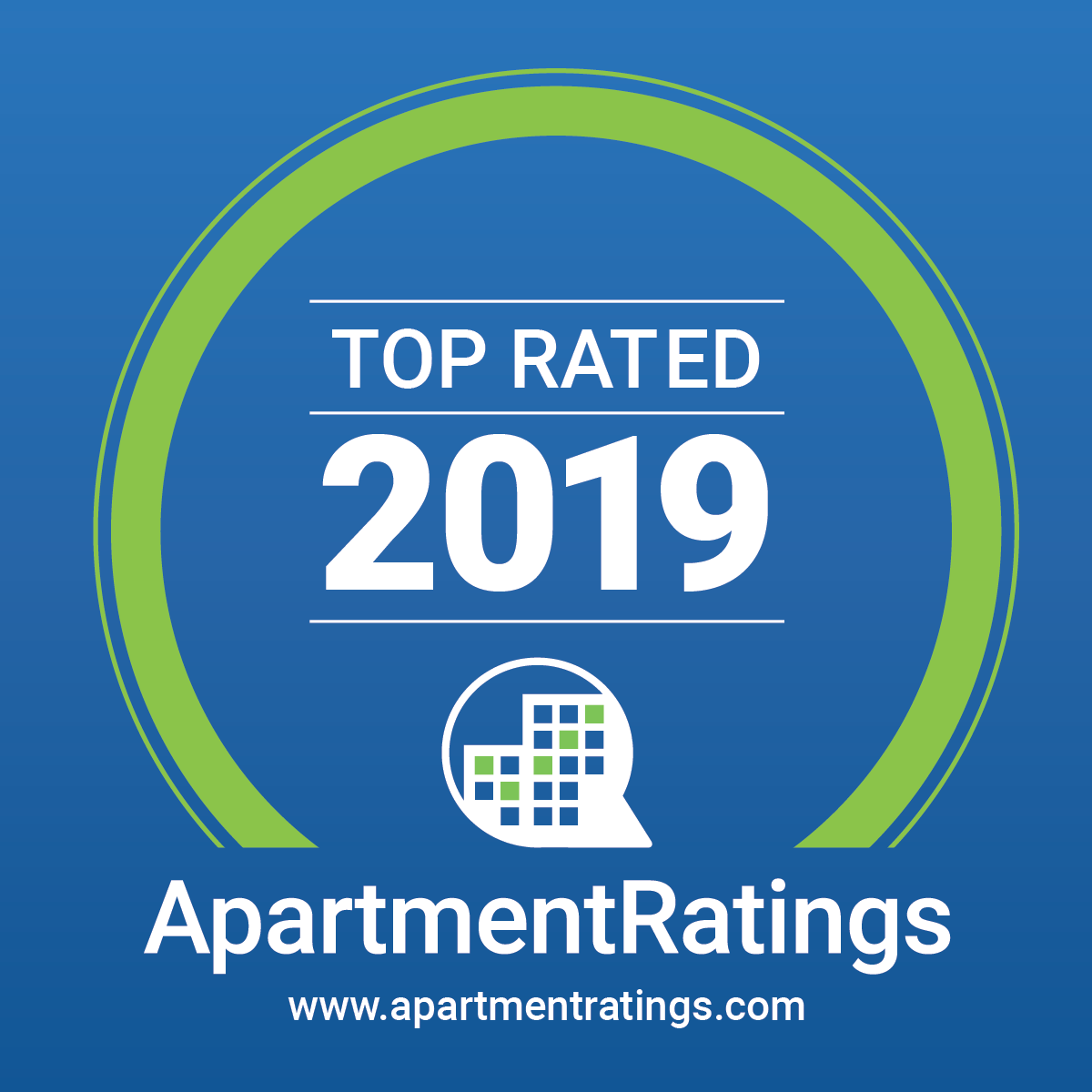 Apartment ratings award icon
